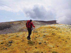 Franz sul Cratere Centrale
