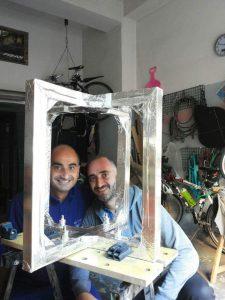 Rosario Catania e Roberto Romero