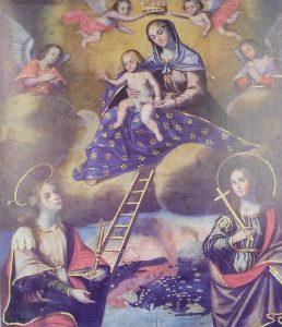 Il dipinto di Santa Maria La Scala