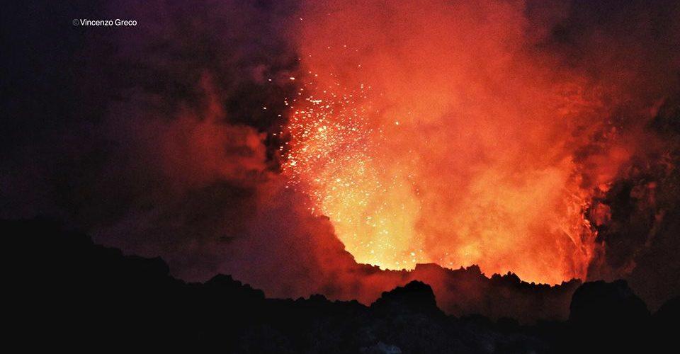 BOCCA NUOVA Etna di fuoco