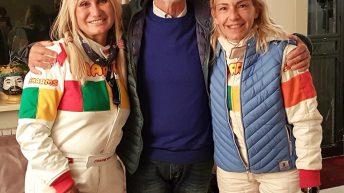 CON LE RAGAZZE RALLY Chantal Galli e Donatella Statuto