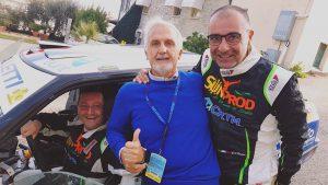 Con Totò Riolo e Gianfranco Rappa