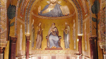 Cappella Palatina Abside centrale