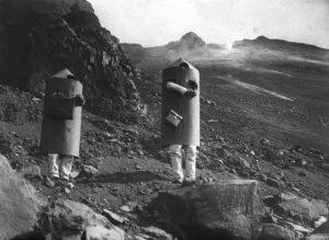 Fig. 1 – 1933 - Arpard Kirner nello Stromboli