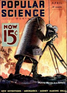 Fig. 2 – Aprile 1933 - Popular Science