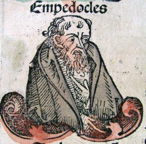 Fig. 5 – Empedocles – dalle Cronache di Norimberga del 1493