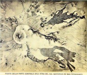 Fig. 9 - Dall'Atlas des Aetnas di Sartorius – 1865