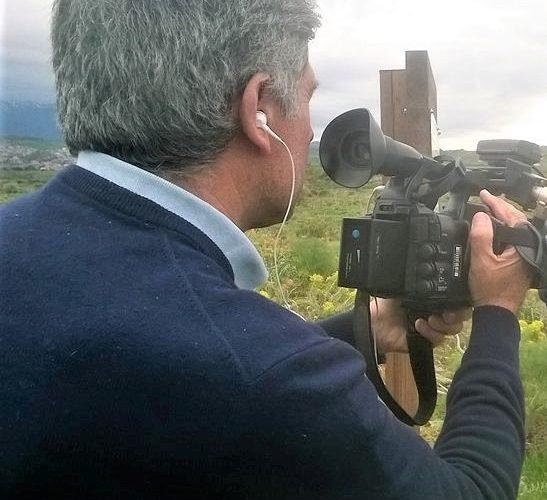 Giovanno Tomarchio con telecamera