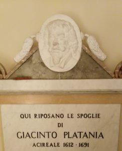 Monumento funebre del Platania, ad Acireale (Foto S. Scalia)