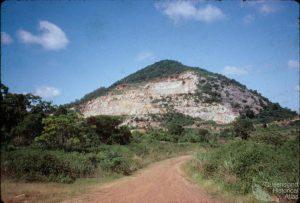 Il Mount Etna nel Queensland, in Australia