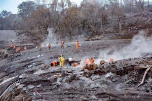 L'Eruzione del vulcano Fuego in Guatemala