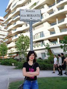 foto piazza Elsa Morante