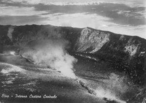 La frattura diametrale all'interno del Cratere