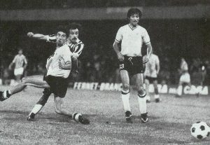Il gol di Franco Causio che, al 117' dei supplementari, valse la sesta Coppa Italia della storia juventina, nella finale di Napoli contro il Palermo