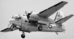 Un esemplare del velivolo Grumman C-1A Trader (da www.gonavy.jp)