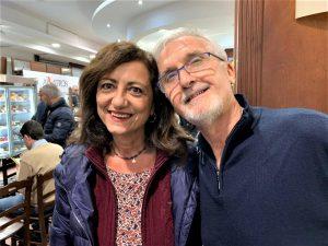 """Delia Romano con Gaetano Perricone: """"carrambata"""" a Palermo, dopo tanti anni"""
