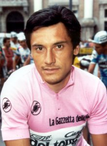 Beppe Saronni, vincitore dell'ultima edizione del Giro ciclistico di Sicilia nel 1977