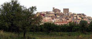 Panoramica del Borgo medioevale (Foto S. Scalia)