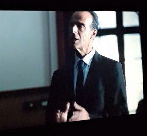 Marco Gambino nei panni del procuratore Pajno