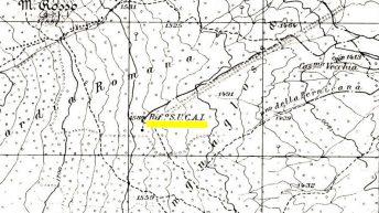 Cartina Etna Nord 1932d