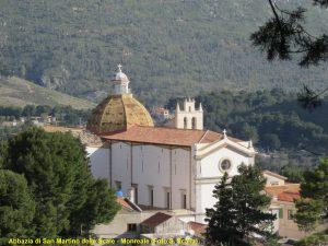 L'abbazia di San Martino delle Scale - Foto Santo Scalia