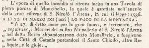 Giuseppe Recupero - Storia naturale e generale dell'Etna – 1815