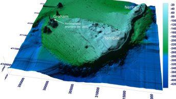 Il complesso vulcanico Empedocle (dal sito internet Meteoweb.it)