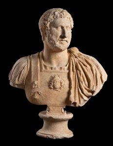 Busto dell'imperatore Adriano (Musei Capitolini – Roma)