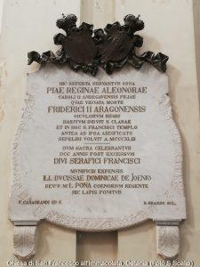ELEONORA Chiesa Immacolata Catania Lapide