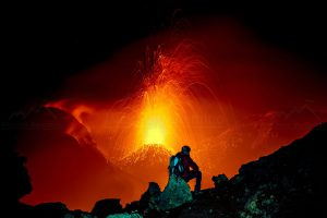 Spettacolare foto notturna di Michele Mammino