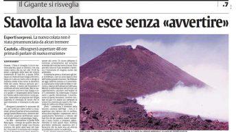 La Sicilia dell'8 settembre 2004