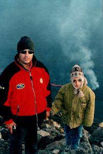 La prima volta sull'Etna di Vincenzo Greco, il 22 luglio 2001