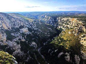 Panorama di Cavagrande