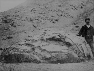 Da G. Mercalli e O. Silvestri, Le eruzioni dell'isola di Vulcano; Ann. U. Centr. Mer. (Roma 1891).