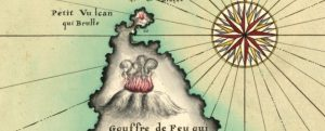 Henry Michelot, particolare da Les isles de Lipari et Vulcan, es costes de Sicille, 1699 (BnF)
