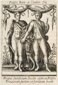 I Palici, figli di Zeus e di Thalia (Mary Evans Picture Library)