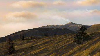 L'alba su Monte Nero Versante Nord