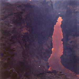 2 Eruzione 1971 – le bocche di quota 1800 e 1850 in contrada Serracozzo (foto S. Scalia)