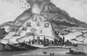 Eruzione 1669 – Anonimo (Collezione Personale)