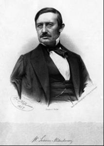 Il Barone Sartorius von Waltershausen ed una delle sue realizzazioni cartografiche dell'Etna