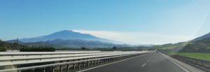 L'Etna dalla A19 (Foto I. Scalia)
