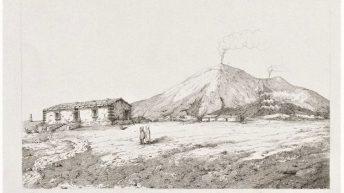 13 1853 - Sartorius von Waltershausen - Atlas des Aetna Incisione_18