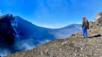 Affaccio al Cratere di Nord Est