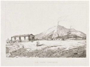 Incisione da Atlas des Aetna, Sartorius von Waltershausen, 1853