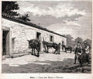 Stampa della Casa del Bosco o Ferrandina