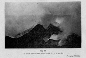 Due immagini del Monte Riccò del fotografo Perret 2