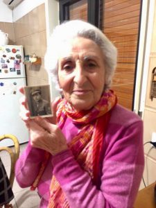 Zina Lupo, oggi 84 anni