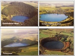 Alcuni maar dell'Eifel (da cartoline postali – collezione personale)